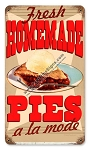 Homemade Pies Vintage Metal Sign