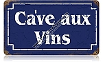 Wine Cellar Vintage Metal Sign