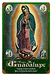 Virgen de Guadalupe Vintage Metal Sign