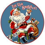 'Tis The Season Vintage Metal Sign