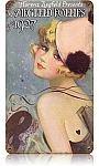 Ziegfeld Follies Vintage Metal Sign