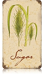Sugar Vintage Metal Sign