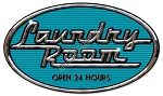 Laundry Room Vintage Metal Sign