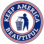 Keep America Beautiful Vintage Metal Sign