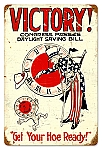 Daylight Victory Vintage Metal Sign