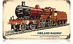 Midland Railway Vintage Metal Sign