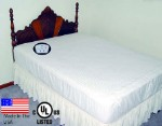 Short Queen Heated Mattress Pad 120 Volt House Current