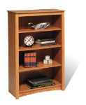 Oak 4-shelf Bookcase By Prepac