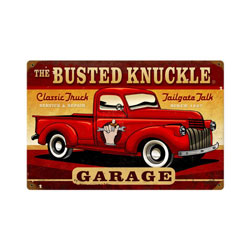 Classic Truck Vintage Metal Sign