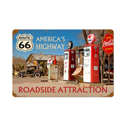 Americas Highway Vintage Metal Sign