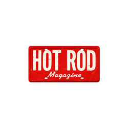 HOT ROD Magazine Vintage Metal Sign
