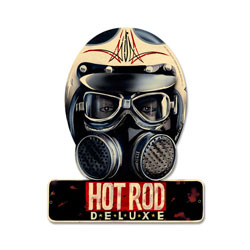 Hot Rod Deluxe Vintage Metal Sign
