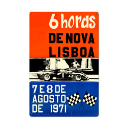 Lisboa Vintage Metal Sign