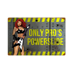 Powerslide Vintage Metal Sign