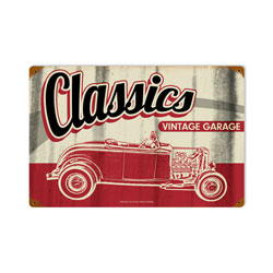 Classic Garage Vintage Metal Sign
