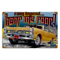 I am Legend Vintage Metal Sign