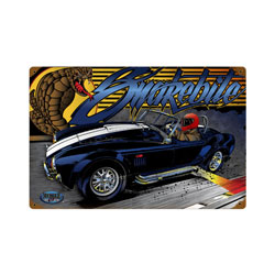 Cobra Vintage Metal Sign