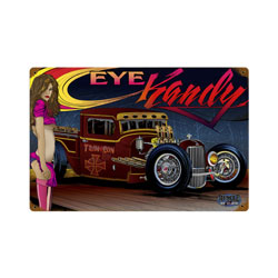 Rat Rod Eye Kandy Vintage Metal Sign