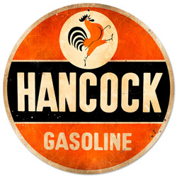 Hancock Old School Vintage Metal Sign