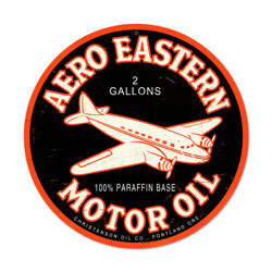 Aero Eastern Vintage Metal Sign