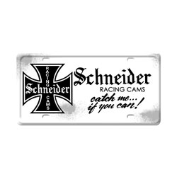 Schneider Vintage Metal Sign