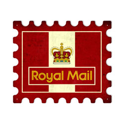 Royal Mail Vintage Metal Sign