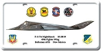 F-117A Nighthawk Vintage Metal Sign