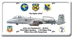 10A Thunderbolt II Vintage Metal Sign
