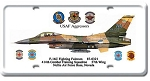F-16C Fighting Fulcrum Vintage Metal Sign