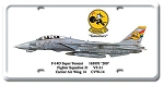 F-14D Super Tomcat Vintage Metal Sign