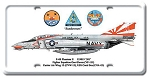 F-4B Phantom II Vintage Metal Sign