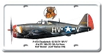 P-47D Thunderbolt Vintage Metal Sign
