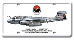 EA-6B Prowler Vintage Metal Sign