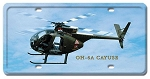 OH-6A Cayuse Vintage Metal Sign