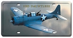 SBD Dauntless Vintage Metal Sign