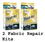 Fabric Repair Kit Repair Patches Set Of Two Boxes