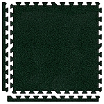 Emerald Green Soft Carpet Floor Premium Tile Kit