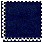 Royal Blue Soft Carpet Floor Premium Tile Kit