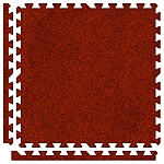 Red Soft Carpet Floor Premium Tile Kit