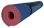 Royal Blue/Red Reversible Soft Mat 4 X 6 Roll