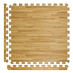 Light Oak Soft Wood Floor Tile Kit
