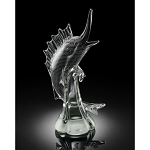 Sailfish Art Glass