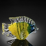 Tropical Fish Art Glass