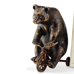 Bear On Trike Paperweight