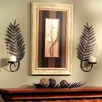 Palm Leaf Wall Sconce