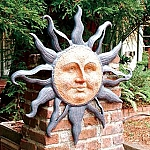 Rising Sun Wall Plaque