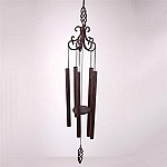 Scroll Wind Chime With Swirl Finial