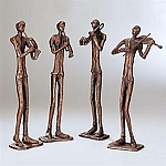 Jazzy Quartet Set Of Four