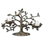 Bird And Tree Candleholder