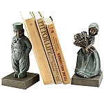 Dutch Boy And Girl Bookends